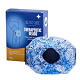 Therapy Wrap Reusable Hot & Cold Gel Beads Best Ice Pack with Elastic Velcro Strap for Knee - Joint & Muscle Pain Relief for Runner, Athletes
