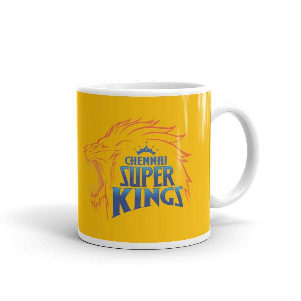 Buy GMX Chennai Super Kings Ceramic 350ml Coffee Mug (Multicolour) Online  at Low Prices in India - Amazon.in 5bfa64f73b01