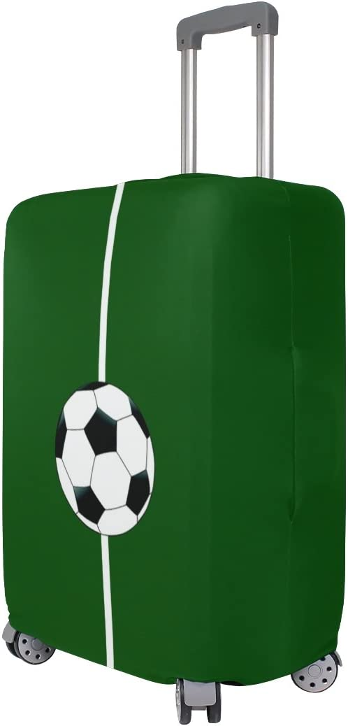 LEISISI Football Field Luggage Cover Elastic Protector Fits XL 29-32 in Suitcase