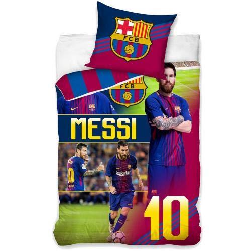 FC Barcelona 160x200 Single Duvet Set - Shirt Original Fc Barcelona