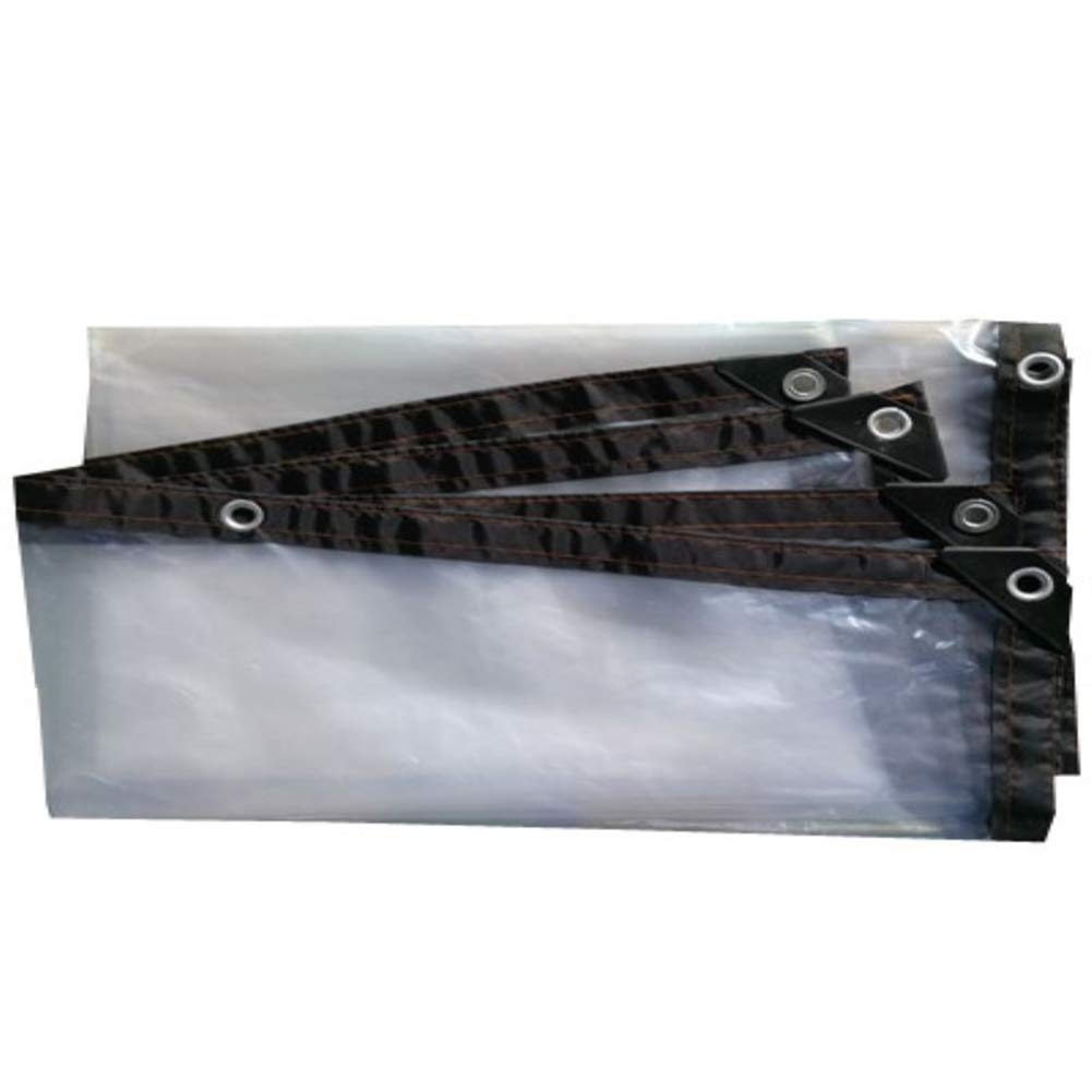 Qing MEI Plastikfolie, Transparenter Plastikstoff, Dicker Wasserdichter, Wasserdichter Plastikstoff, Große Filmfolie, Perforiert A+ (größe   3x7m)