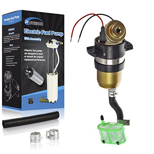 POWERCO E8116 Fuel Pump Module & Strainer Set Replacement For Nissan Pathfinder 95-87 3.0L VG30E