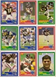 San Diego Chargers 1989 Score (Premier Edition) Football Team Set** Mark Malone, Anthony Miller (RC), Anthony Miller Speed Burner, Jamie Holland, Gary Anderson, Billy Ray Smith, Quinn Early, Lee Williams, Burt Grossman (RC)**