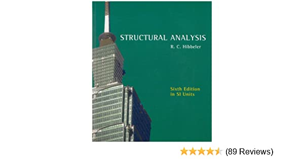 Structural analysis r c hibbeler 9780131976412 amazon books fandeluxe Choice Image