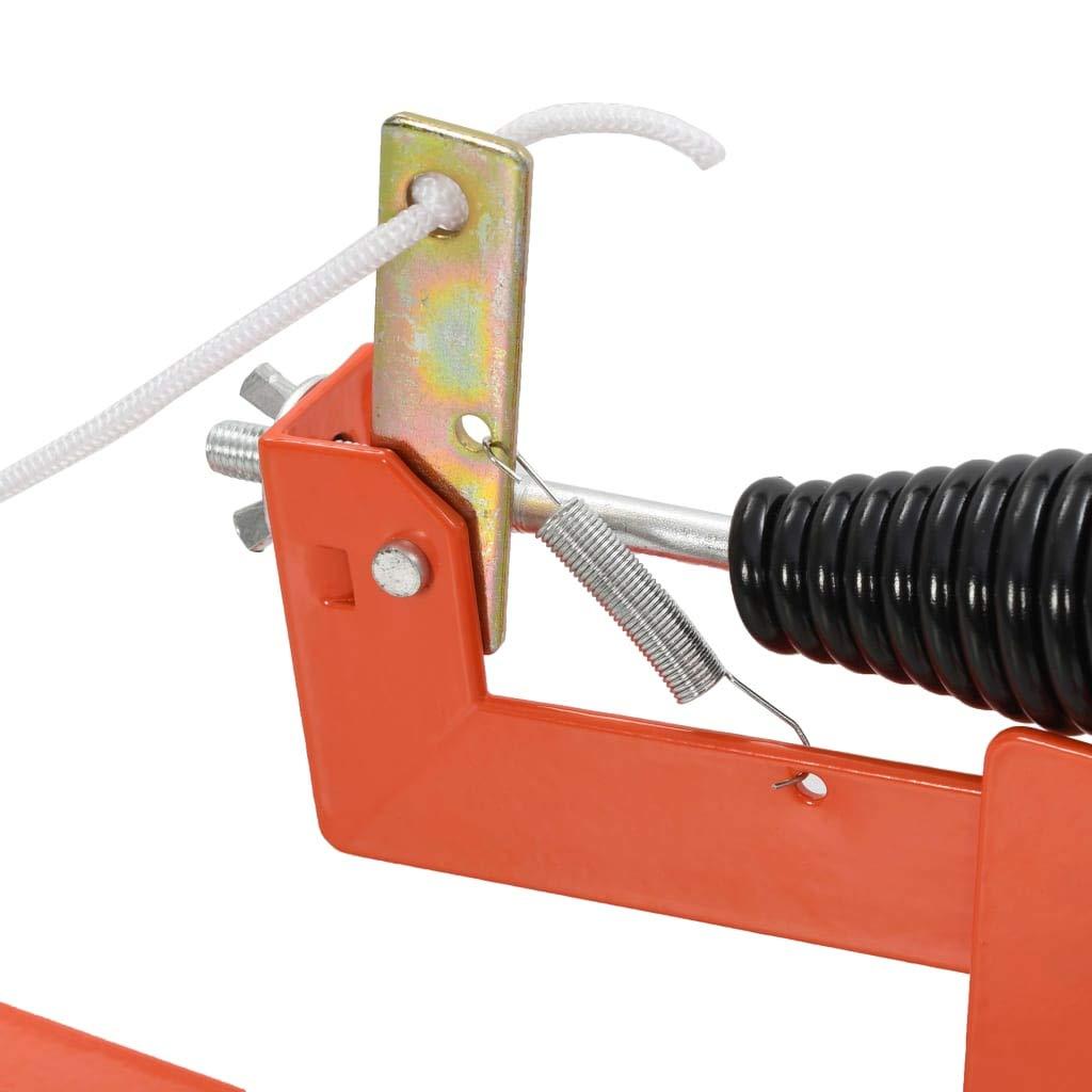 vidaXL Lanzador de Objetivos de Arcilla de Acero Accesorios Tiro Caza Deportes Accesorios Tiro Precisi/ón Entrenamiento Competiciones Sin Montaje