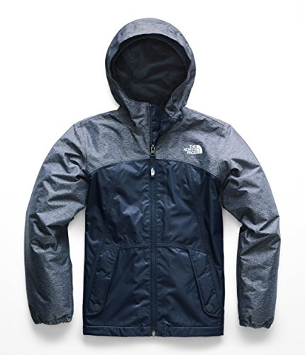 The North Face Warm Storm Jacket - Girl's Blue Wing Teal Small
