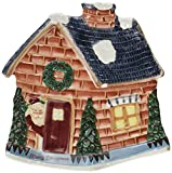 Holiday Collection, Fireplace Santa, Snack & Canape Plate