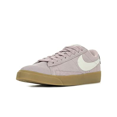 best sneakers 77769 03ce0 Nike W Blazer Low SD, Chaussures de Basketball Femme, Multicolore (Plum  Chalk