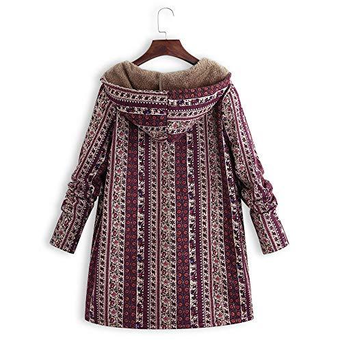 Hoodie C Innerternet Chaud Capuche Polaire Automne Femme Veste shirt Sweat  Hiver Zippé Manteau À Rouge aaA14xB 44ddb95b4a5