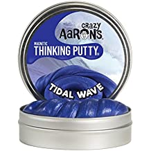 Crazy Aaron's Thinking Putty, 3.2 Ounce, Super Magnetic Tidal Wave