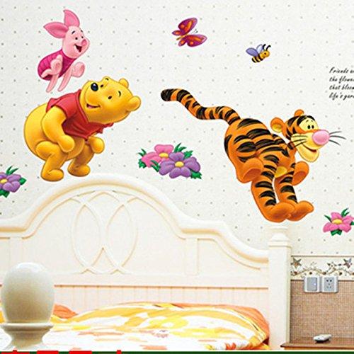 Capcha-Shop - Winnie the Pooh Bear Tiger wall