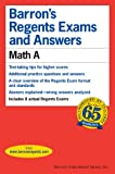 Barron's Regents Exams and Answers, Lawrence S. Leff, 0764115529
