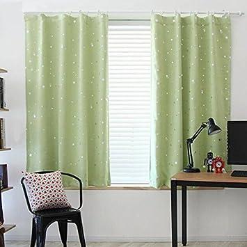 2 Stück WCIC 100cmX130cm Verdunkelungsvorhang, Kinderzimmer Fenster  Draperie Vorhänge Für Kid U0027s Room,