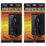 "iPower 2 Pack 6 by 8"" 8W Reptile Heat Pad Under Tank Terrarium Heater Heat Mat for Small Animals"
