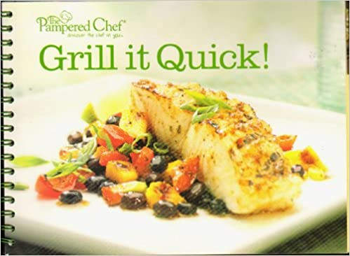 Pampered Chef Recipe Book