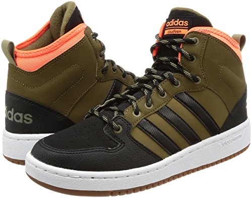 Baskets Pour Cf olitra Hommes Adidas Vert Hoops Negbas Mid Narsol Wtr qwfAnAISX