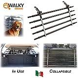 Walky Barrier Folding Universal Auto Pet Safety Barrier K9 Guard Pet Safety Barrier Fence