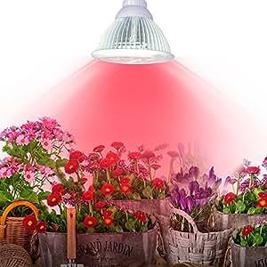 Superior Interior LED Grow luz E27jardín de efecto invernadero hidropónico de plantas. 24W