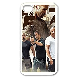 The Fast and the Furious IPhone4 4SPhone Case Black white Gift Holiday &Christmas Gifts& cell phone cases clear &phone cases protective&fashion cell phone cases NYRGG69703810