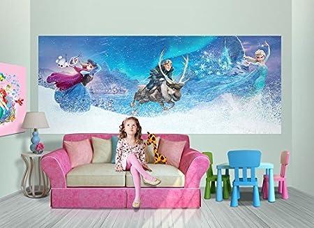D/écoration murale pour chambre denfant Papier peint photo/-/Motif/ 130x52cm 1-Teilig N23 La Reine des neiges/-/Num/éro de r/éf/érence/