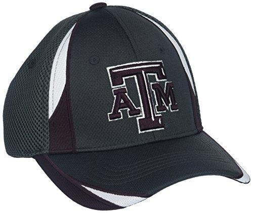 ZHATS NCAA Texas A&M Aggies Adult Men Torque, X-Large, Charcoal