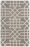 Cheap Rizzy Home Caterine Collection CE9473 Hand-Tufted Wool Area Rug 9′ x 12′ Taupe-Tan