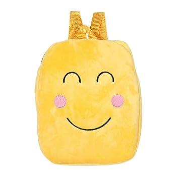 Outsta Mochila Emoji de Hombro Emoticon, Mochila escolar, mochila, mochila clásica, básica, resistente al agua, casual, para viajes (I): Amazon.es: Juguetes ...