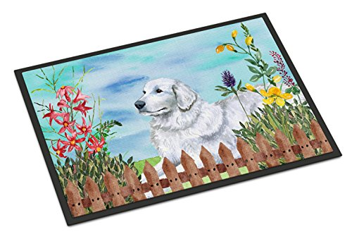 Caroline's Treasures Maremma Sheepdog Spring Doormat 18