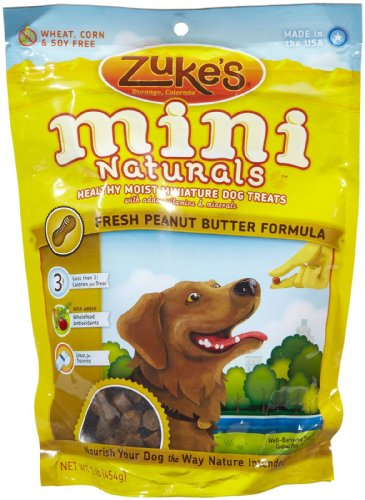 Zuke's Mini Naturals Dog Treats Peanut Butter, Peanut Butter 16 oz, My Pet Supplies