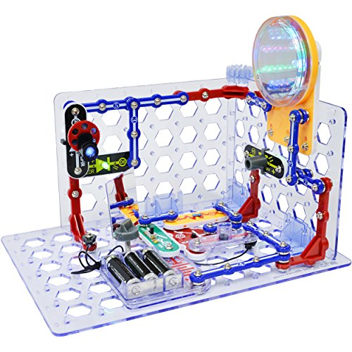 Snap Circuits 3D Illumination Electronics Exploration Kit | Over 150 STEM Projects | Full Color Project Manual | 50+ Snap Circuits Parts | STEM Educational Toys for Kids 8+