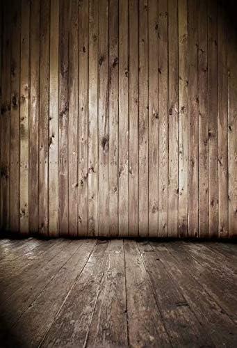 Brown-Black Planks self Portrait Wedding Baby Photography Background Custom Photography Studio Photography Background