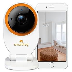 Smartfrog WLAN HD Überwachungskamera/IP-Kamera innen mit App