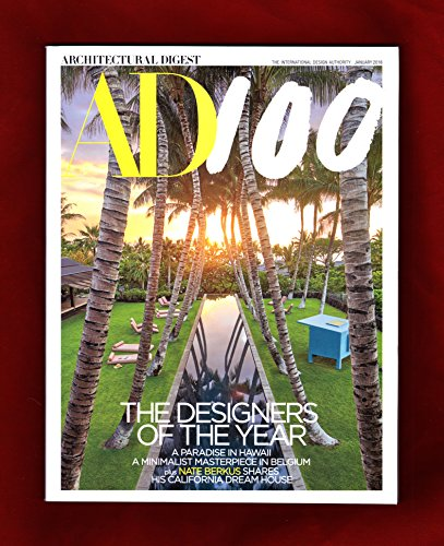 Architectural Digest Magazine (January, 2018) The Designers of The Year