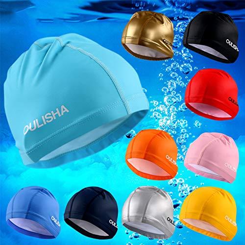 Solid Swim Per Balai Cuffia Antirughe E Da Cap Ideale Medi Nuoto I Donna Uomo Capelli Corti d1qgxw