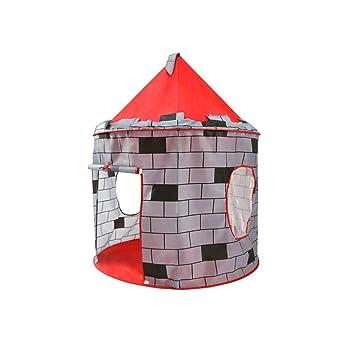 Mobiliario y materiales para educación temprana HJGHFH Castillo Pop Up para niños Adecuado para Uso Interior y Exterior