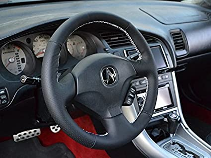 Amazoncom Acura RSX Steering Wheel Cover By RedlineGoods - Acura rsx steering wheel