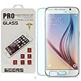[2 Pack] Galaxy S6 Screen Protector,SILVERBACK?,Bubble Free,3mm 9H Hardness Tempered Glass Screen Protector for Samsung Galaxy S6 G920 G920A G920i G920T G920F G9200 - Retail Packaging