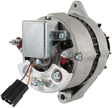 New 55 Amp Alternator Fits John Deere JD500A 500C JD500 JD500A JD500B