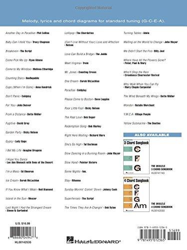 Amazon The Ukulele 5 Chord Songbook Ukulele Chord Songbooks