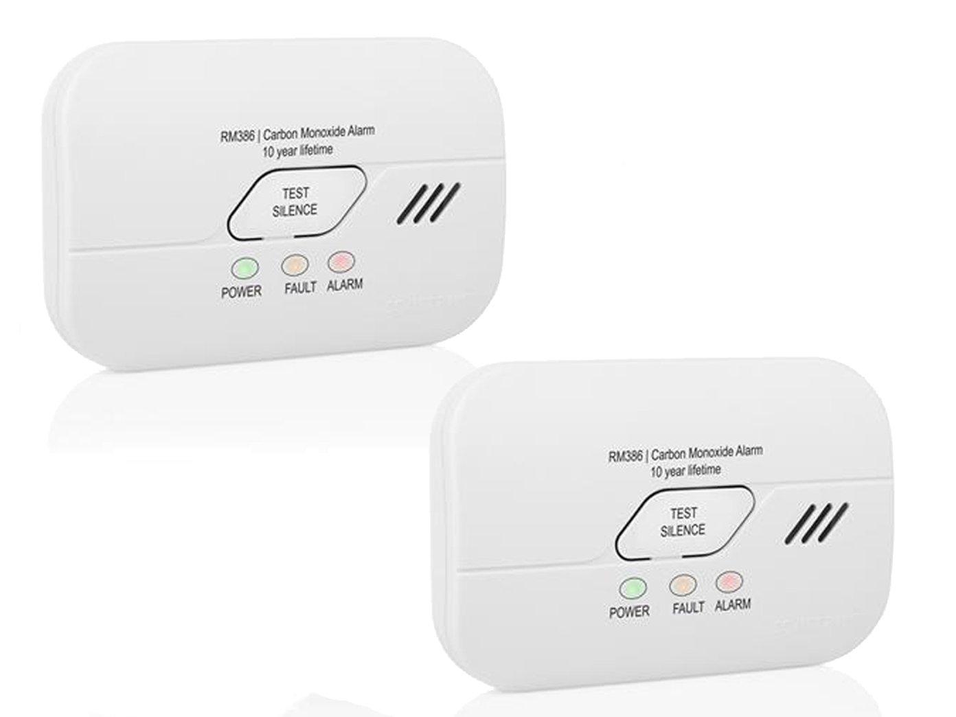 SMARTWARES 50291 Détecteur de monoxyde de Carbone avec Batterie de 3 Ans