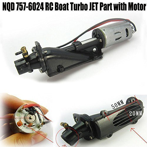 Yosoo 1 Pcs Rc Boat Turbo JET Part with 390 Motor for NQD 757-6024 (Rc Boat Motors compare prices)