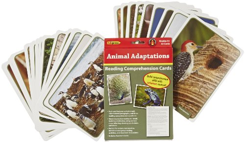 Edupress 32 Piece Reading Comprehension Science Cards Set