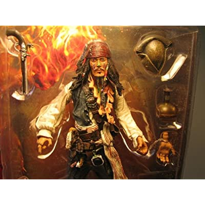 Pirates of the Caribbean: Dead Man's Chest Series 1 Comic-Con Exclusive Cannibal Jack Sparrow Action Figure: Toys & Games