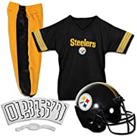 Nfl Steelers Childs Helmet and Uniform Set Costume