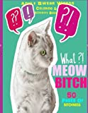 img - for Meow Bitch: Cat Adult Swear Words Coloring & Word Search Book book / textbook / text book