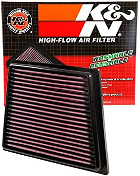 K/&N Panel Air Filter FOR FORD FIESTA ST 1.6L L4 F//I 33-2955
