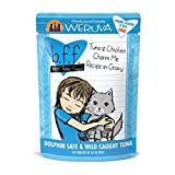 Weruva Best Feline Friend (B.F.F.) Tuna & Chicken Charm Me with Tuna & Chicken in Gravy Cat Food, 3oz Pouch (Pack of 12)