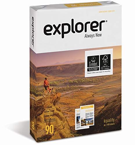 EXPLORER - Papel blanco multiusos para impresora - A4 90gr - 1 ...