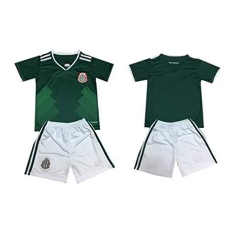 f4c4473a770dc Amazon.com : Sykdybz Mexican Jersey Children's Soccer Clothing Suit ...