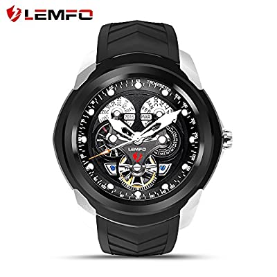 LEMFO LF17 Android 5.1 Smart Watch RAM 512MB ROM 4GB Bluetooth Smartwatch Support Heart Rate Monitor GPS Wifi SIM TF Card